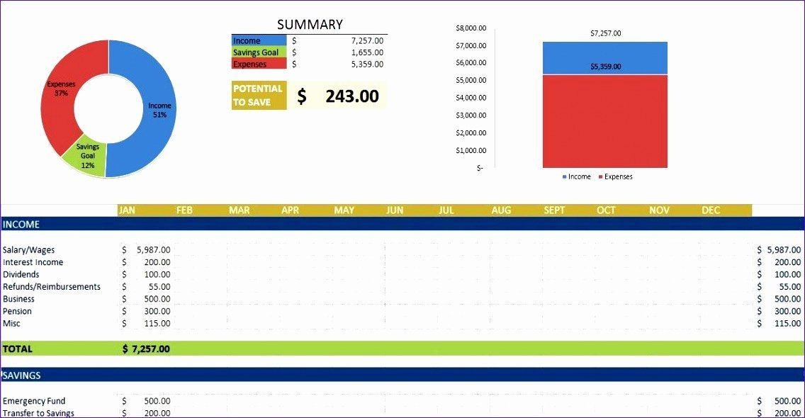 Personal Financial Planner Template Personal Financial Plan Template New 6 Personal Financial