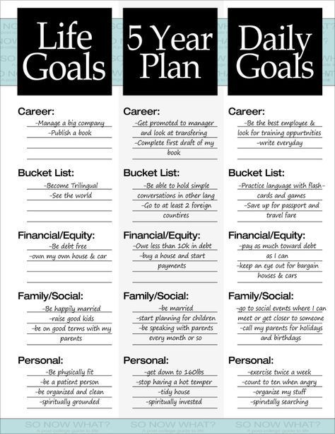 Personal Five Year Plan Template the 3 Steps to A 5 Year Plan