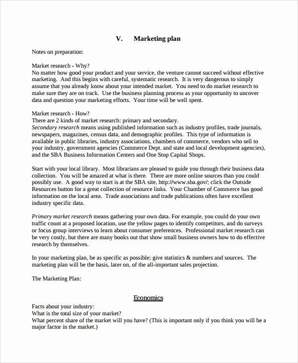 Personal Marketing Plan Template Personal Marketing Plan Template Fresh 7 Personal Business