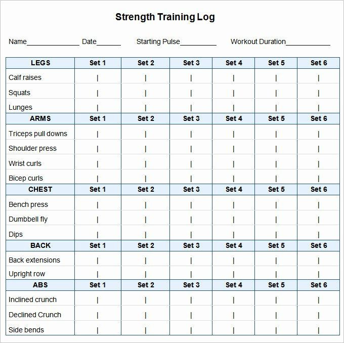 Personal Trainer Workout Plan Template Workout Plan Template Excel Inspirational 24 Workout