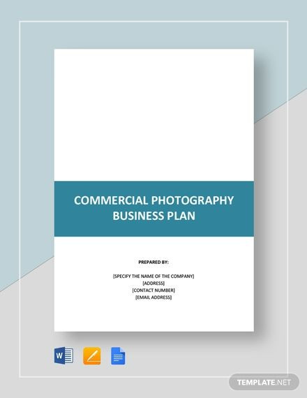 Photography Business Plan Template Instantly Download Mercial Graphy Business Plan