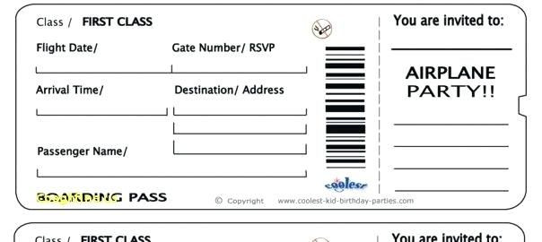 Plane Ticket Template Word Fake Boarding Pass Boarding Pass Template Free 16 Real