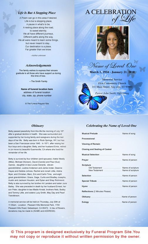 Planning A Funeral Service Template Free Funeral Program Templates Microsoft Publisher