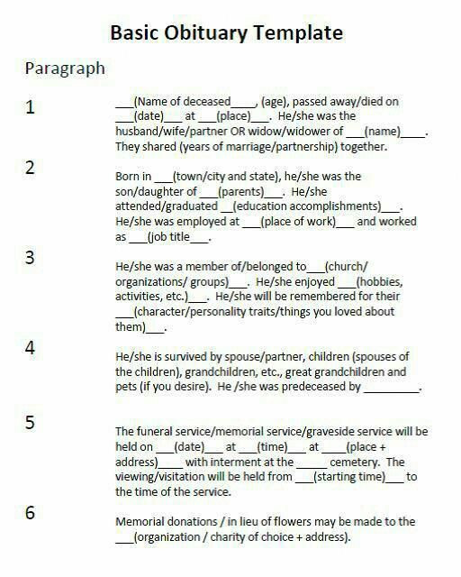 Planning A Funeral Service Template More Funeralplanning Funeralplanningchecklist