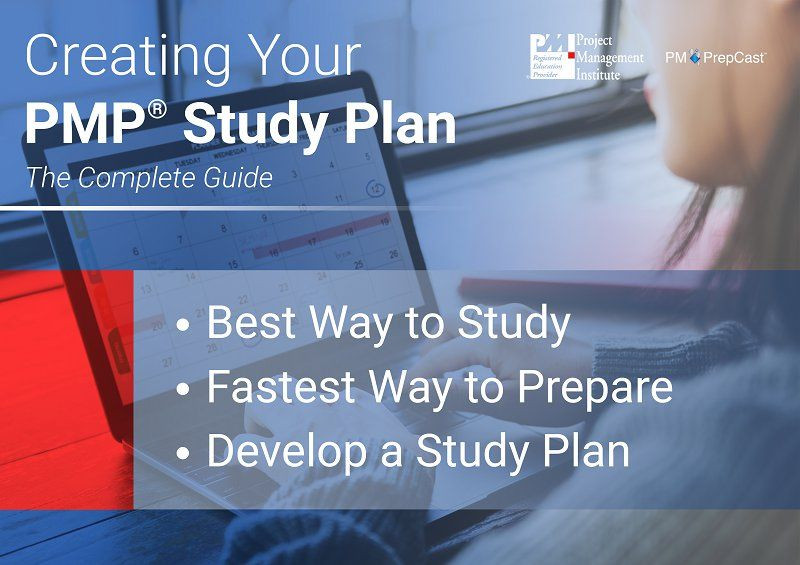 Pmp Study Plan Template Creating Your Pmp Study Plan the Plete Guide