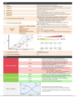 Pmp Study Plan Template Pin On Technology