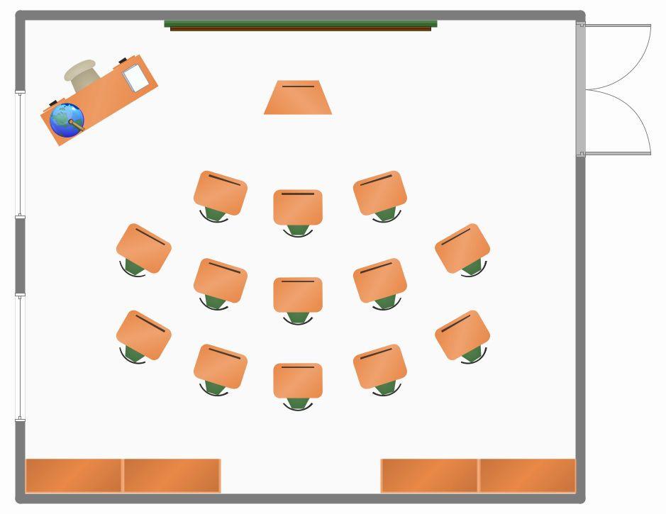 Powerpoint Floor Plan Template Powerpoint Floor Plan Template Beautiful Classroom Seating