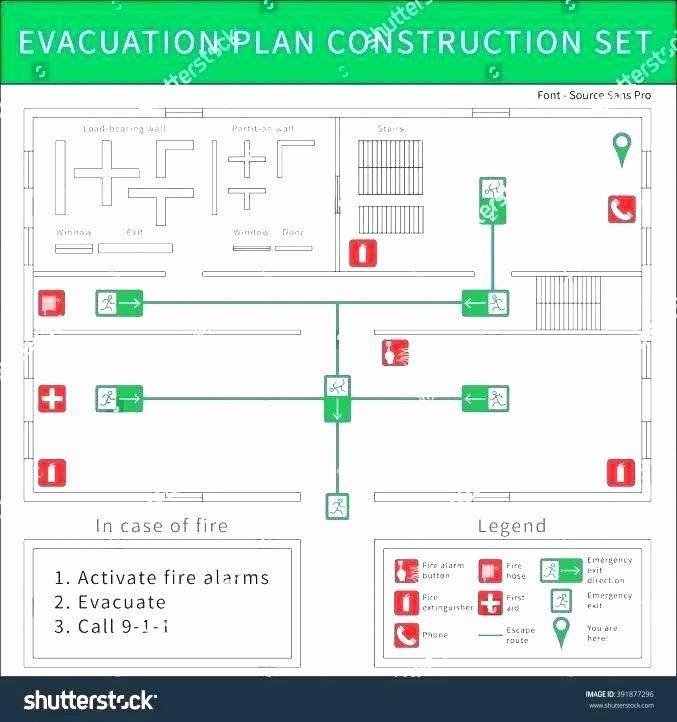 Powerpoint Floor Plan Template Powerpoint Floor Plan Template Luxury Emergency Exit Routes