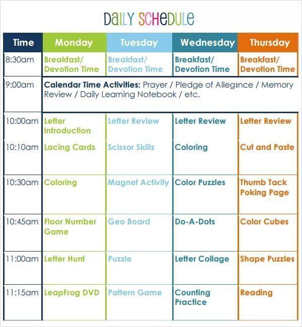 Preschool Lesson Plan Template Pdf Lesson Plan Template Pdf Proper Preschool Lesson Plan