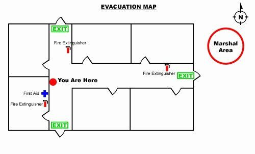 Printable Fire Escape Plan Template Fire Evacuation Plan Template Luxury Free Fire Evacuation