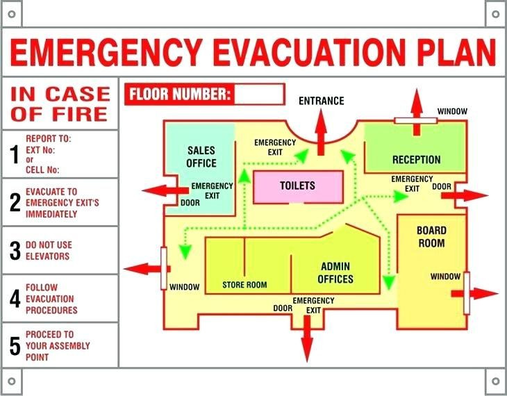Printable Fire Escape Plan Template Image Result for Hotel Emergency Evacuation Plan Template
