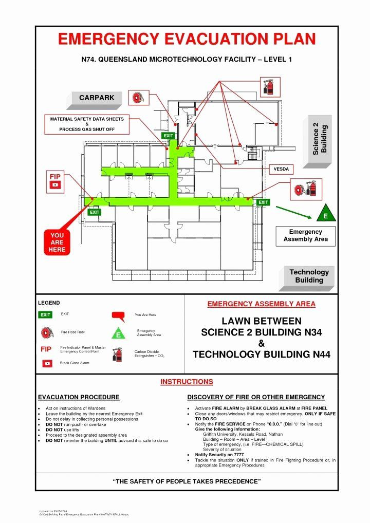 Printable Fire Escape Plan Template Printable Fire Escape Plan Template Fresh Business Emergency