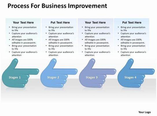 Process Improvement Plan Template Powerpoint Process Improvement Plan Templates Elegant Business