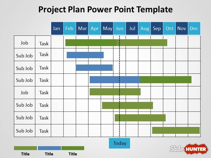 Project Plan Powerpoint Template Free Project Plan Powerpoint Template