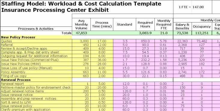 Project Staffing Plan Template Excel Project Staffing Plan Template Excel Fresh Fte Exhibits In