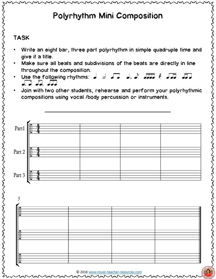 Quad D Lesson Plan Template Melody Writing Activity E Of the Many Free S for