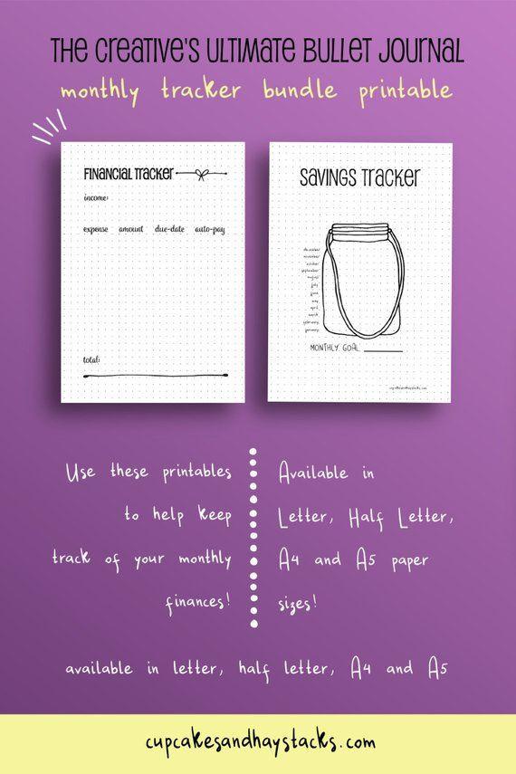 Quit Smoking Plan Template Bullet Journal Printable Habit Tracker Life Planner