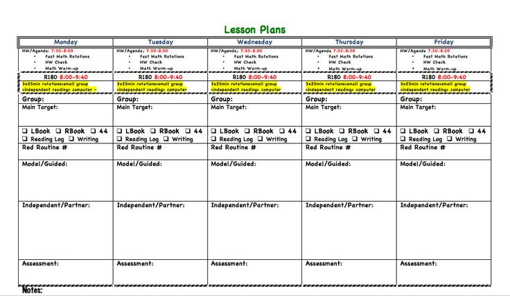 Read 180 Lesson Plan Template 1st Page Of Lesson Plans 986—573