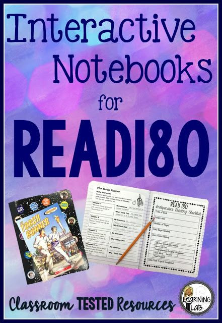 Read 180 Lesson Plan Template Interactive Reader S Notebooks for Read180 Freebie