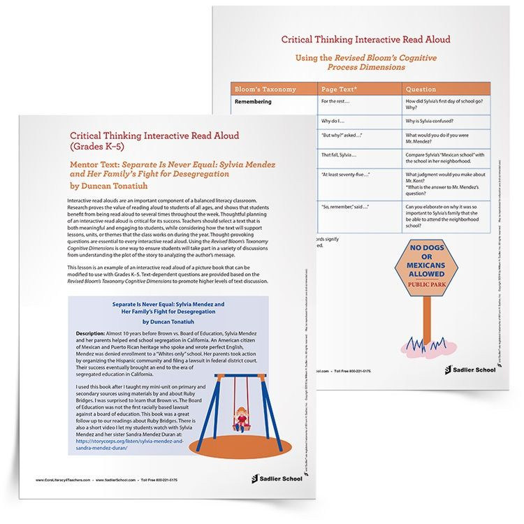 Read Aloud Lesson Plan Template Interactive Read Aloud Lesson Plan Template Separate is