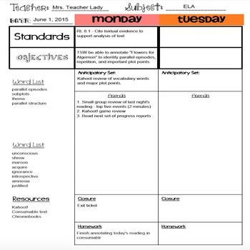Reading Recovery Lesson Plan Template Lesson Plans Templates [distance Learning]