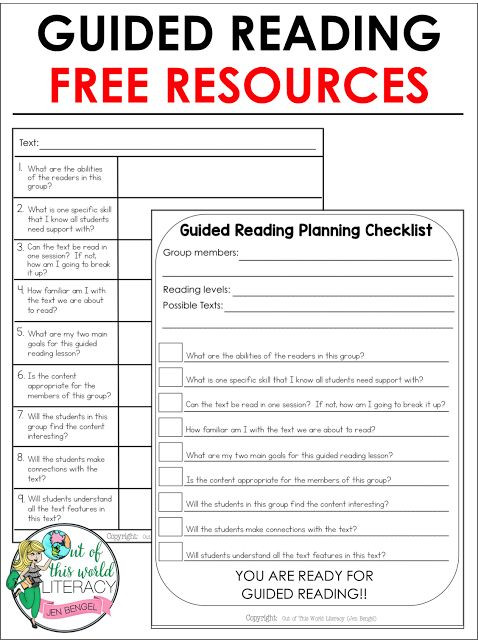 Reading Wonders Lesson Plan Template 9 Essential Questions when Planning for Guided Reading