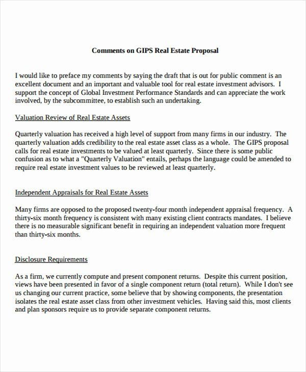 Real Estate Business Plan Template Real Estate Proposal Template Fresh 13 Real Estate Business