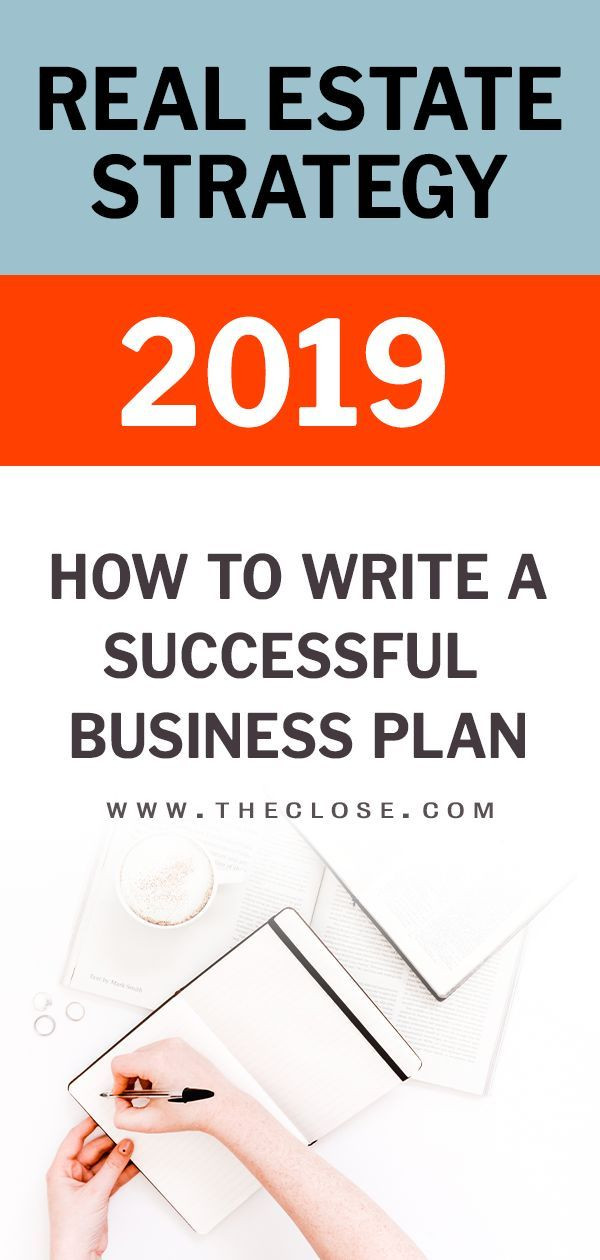 Realtor Business Plan Template 9 Steps to Writing A Real Estate Business Plan Free