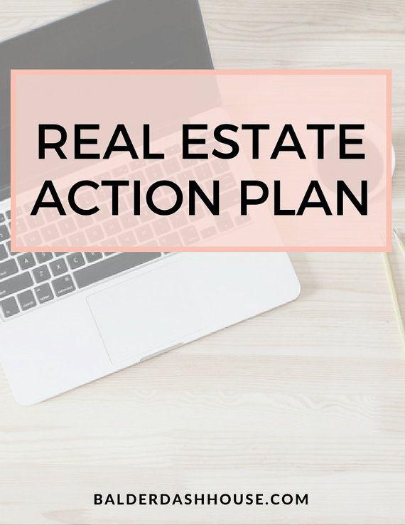 Realtor Business Plan Template Real Estate Agent Action Plan Template Real Estate Templates