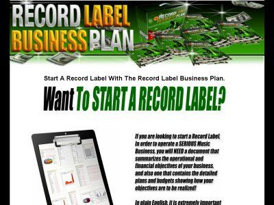 Record Label Business Plan Template Record Label Business Plan 2 0 Music and Entertainment