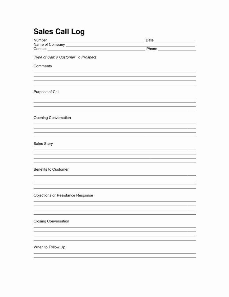 Sales Call Plan Template 30 Sales Call Plan Template