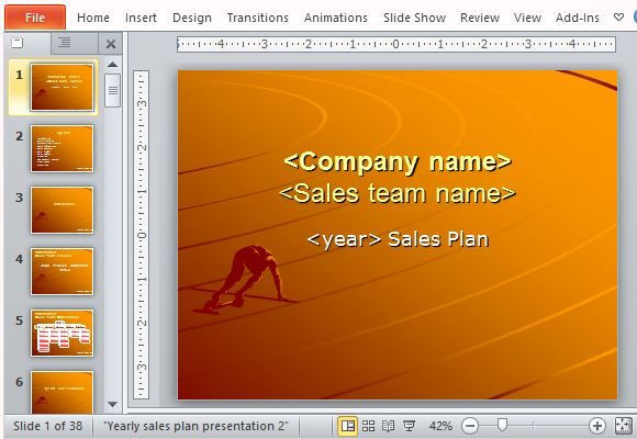 Sales Plan Template Ppt Free Sales Plan Templates for Powerpoint