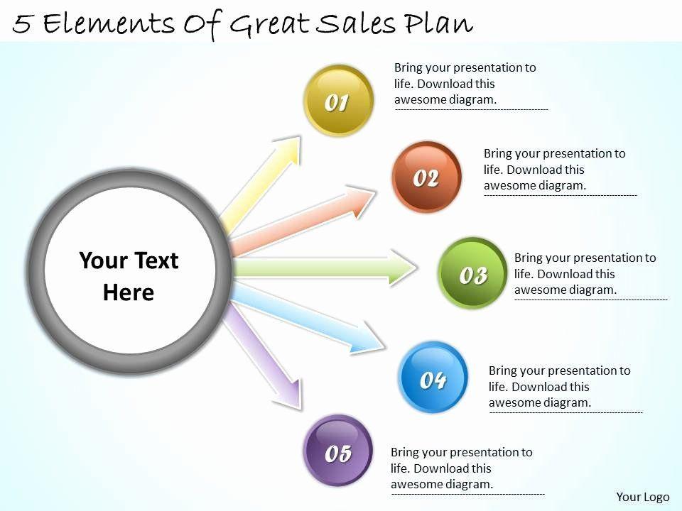 Sales Plan Template Ppt Ppt Business Plan Template Unique 1113 Business Ppt Diagram