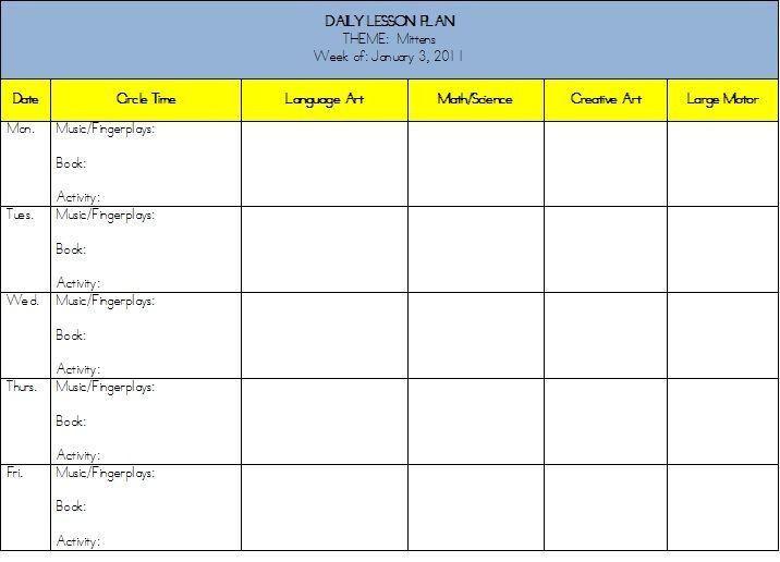 School Age Lesson Plan Template School Age Lesson Plan Template Inspirational School Age