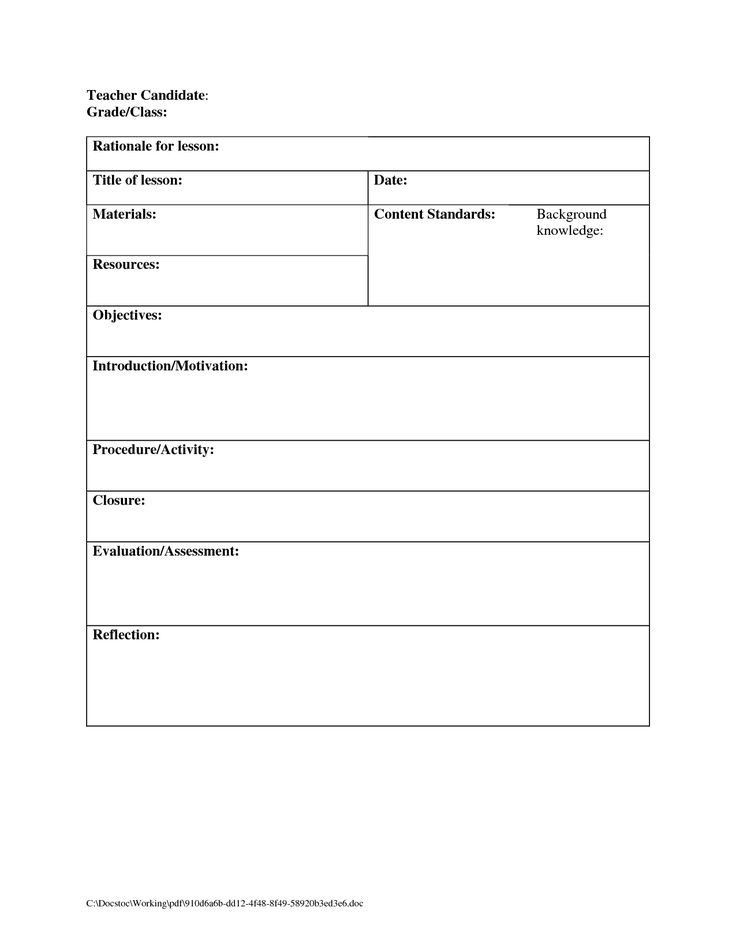 School Counselor Lesson Plan Template Lesson Plan Template School Counselor 5 Mon Mistakes