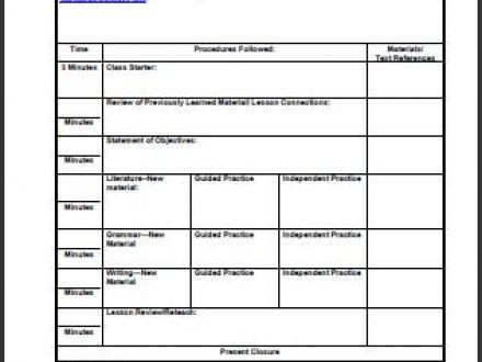 Secondary Lesson Plan Template Pin On Ideas for Secondary Music Educators