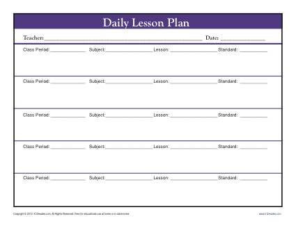 Secondary Lesson Plan Template Pin On My Classroom Stuff