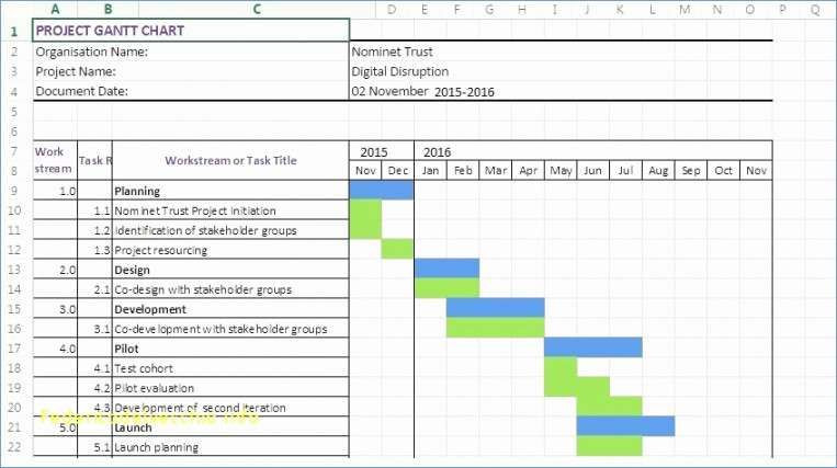 Server Upgrade Project Plan Template Vorlage Gantt Diagramm Excel In 2020