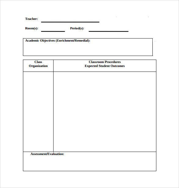 Simple Lesson Plan Template Physical Education Lesson Plans Template New Sample Physical