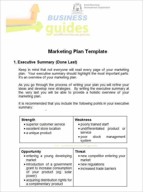 Simple Marketing Plan Template Word Marketing Proposal Template Word Fresh 14 Sample Marketing