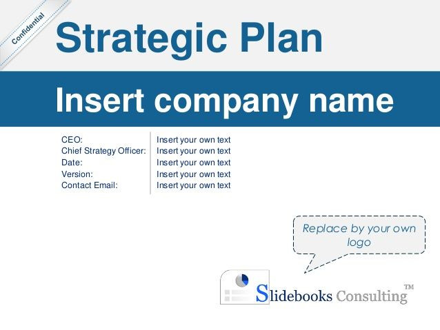 Simple Strategic Plan Template Simple Strategic Plan Template