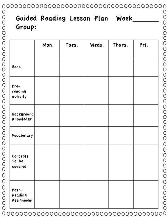 Small Group Lesson Plans Template Get Your Choice Of Two Free Lesson Plan Templates for Guided