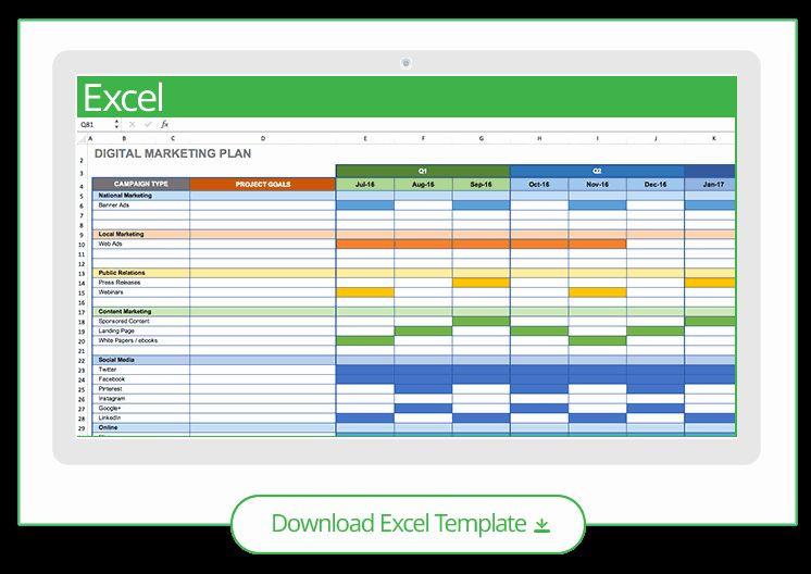 Social Media Plan Template Excel Marketing Action Plan Template Excel Best 4 Step Plan to