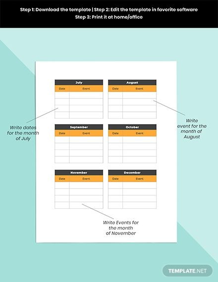 Social Media Planner Template Media Planner Template Ad Paid Media Planner