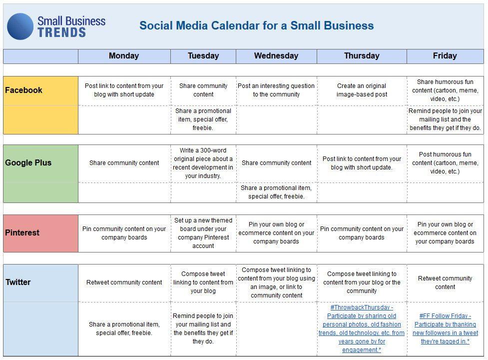 Social Media Planner Template social Media Content Planner Template Fresh social Media Ca