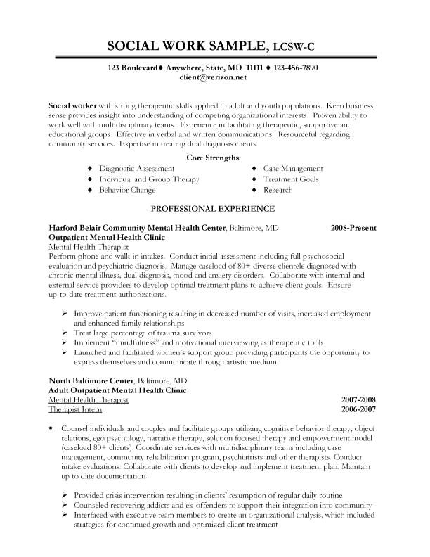 Social Work Case Plan Template Minimalist Resume Templates to Make Your Resume Professional