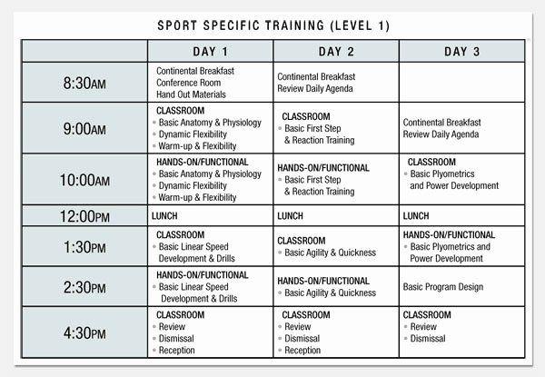 Software Training Plan Template Sample Training Plan Outline Elegant Best S Sample Program