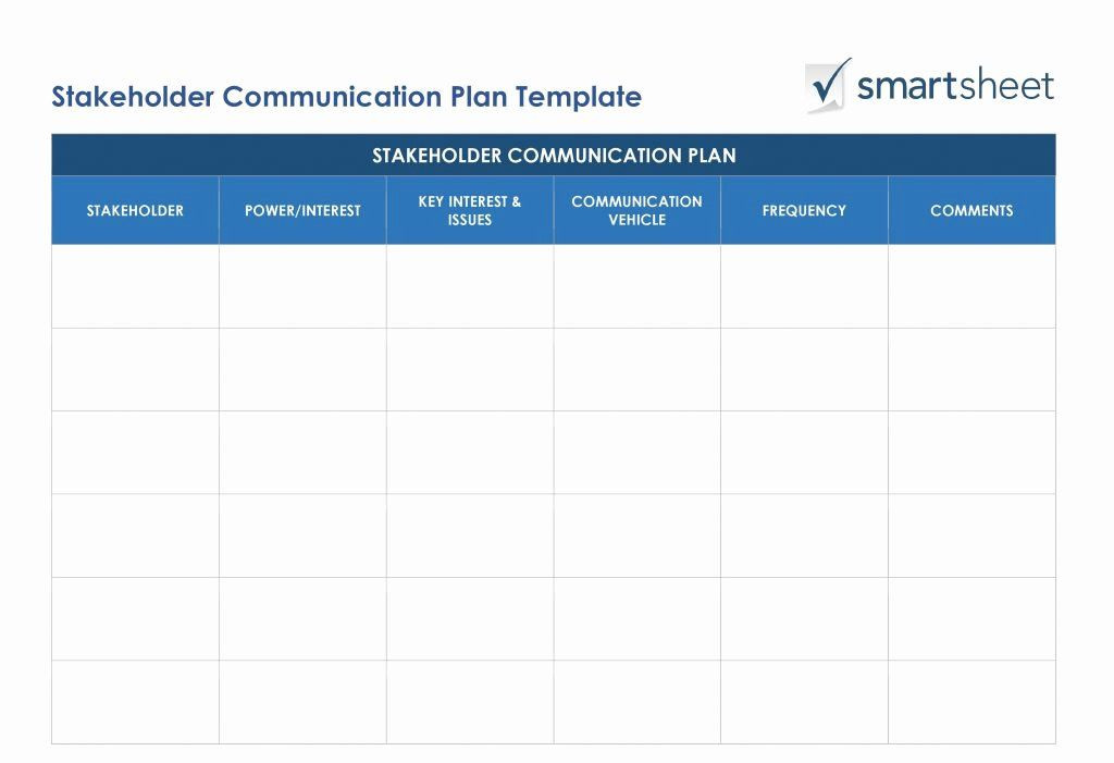 Stakeholder Management Plan Template Excel organizational Change Management Plan Template Inspirational