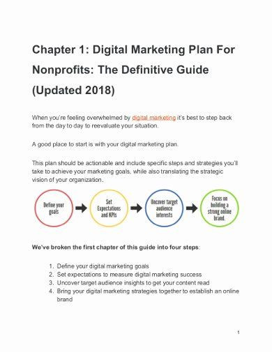 Startup Marketing Plan Template Nonprofit Marketing Plan Template Inspirational 13 Nonprofit