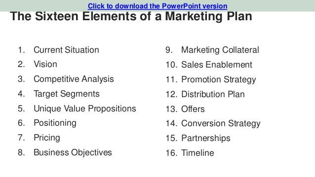 Startup Marketing Plan Template Winning Situation Analysis for A Marketing Plan as An event